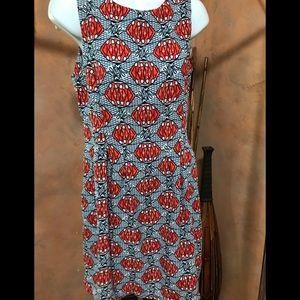 Zara woman print dress.